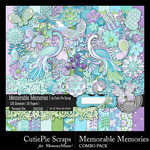 Memorable Memories Combo Pack-$3.49 (CutiePie Scraps)