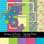 Spring Days Mini Pack-$3.99 (Designs by Krista)