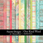 One Kind Word Paper Pack-$4.99 (Fayette Designs)