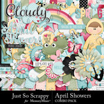 April Showers JSS Combo Pack-$3.49 (Just So Scrappy)
