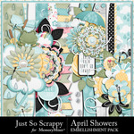 April Showers JSS Borders Pack-$1.99 (Just So Scrappy)
