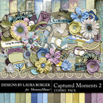 Captured Moments 2 Combo Pack-$7.99 (Laura Burger)