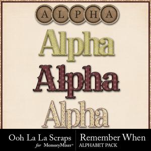 Remember when alphabets medium