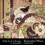 Remember When Combo Pack-$4.99 (Ooh La La Scraps)