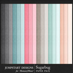 Sugarbug Solid Paper Pack-$3.99 (Jumpstart Designs)