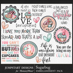Sugarbug WordArt Pack-$3.99 (Jumpstart Designs)