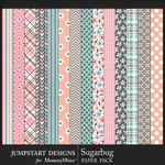 Sugarbug Patterned Paper Pack-$3.99 (Jumpstart Designs)