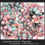 Sugarbug Embellishment Pack-$4.99 (Jumpstart Designs)