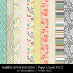 Paper Crush Vol 2 Paper Pack-$2.99 (Karen Lewis)