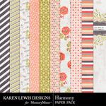 Harmony Paper Pack-$2.99 (Karen Lewis)