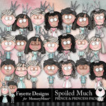 Spoiled Much Prince and Princess Pack-$4.49 (Fayette Designs)