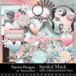 Spoiled Much Basic Embellishment Pack-$3.99 (Fayette Designs)