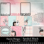 Spoiled Much Pocket Pieces Pack-$3.99 (Fayette Designs)