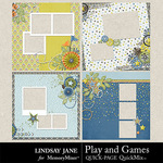 Play and Games Quick Pages-$2.99 (Lindsay Jane)