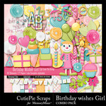 Birthday Wishes CPS Girl Combo Pack-$4.99 (CutiePie Scraps)