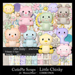 Little Chinky Combo Pack-$4.99 (CutiePie Scraps)