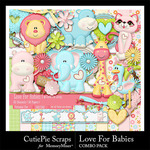 Love For Babies Combo Pack-$4.99 (CutiePie Scraps)