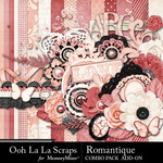 Romantique Add On Combo Pack-$4.99 (Ooh La La Scraps)