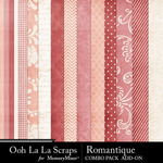 Romantique add on kit papers small