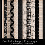 Romantque kit papers small