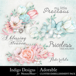 Adorable Cluster Pack-$3.49 (Indigo Designs)