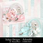 Adorable Combo Pack-$5.49 (Indigo Designs)