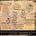 Somewhere In Time WordArt Pack-$4.99 (Laura Burger)