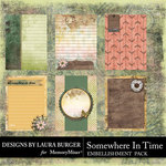 Somewhere In Time Journal Cards-$4.99 (Laura Burger)