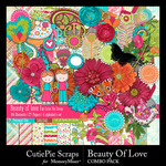 Beauty Of Love Combo Pack-$2.50 (CutiePie Scraps)