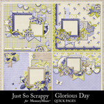 Glorious Day Quick Pages-$2.99 (Just So Scrappy)
