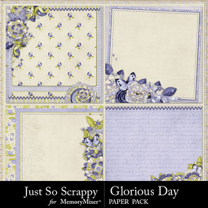 Glorious day stacked papers medium