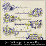 Glorious Day Cluster Stitches Pack-$1.99 (Just So Scrappy)