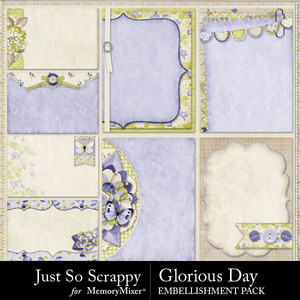 Glorious day pocket journal cards medium
