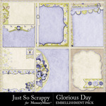 Glorious Day Pocket Journal Cards Pack-$1.99 (Just So Scrappy)