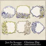 Glorious Day Cluster Journal Cards Pack-$1.99 (Just So Scrappy)