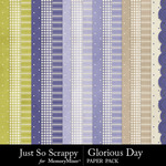 Glorious Day Extra Paper Pack-$1.99 (Just So Scrappy)