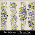 Glorious Day Page Borders Pack-$1.99 (Just So Scrappy)