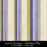 Glorious Day Embossed Paper Pack-$1.99 (Just So Scrappy)