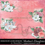 Mothers Daughter Stitched Clusters-$3.49 (Laura Burger)