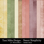 Sweet simplicity papers small