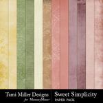 Sweet Simplicity Paper Pack-$2.99 (Tami Miller)