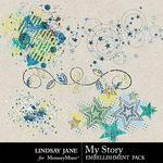 My Story LJ Scatterz Pack-$1.40 (Lindsay Jane)