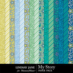 My Story LJ Extra Paper Pack-$1.99 (Lindsay Jane)