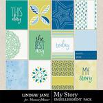 My Story LJ Journal Cards Pack-$1.40 (Lindsay Jane)