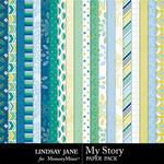 My Story LJ Paper Pack-$2.49 (Lindsay Jane)