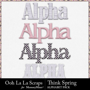 Think spring alphabets medium