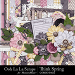 Think Spring Combo Pack-$4.99 (Ooh La La Scraps)