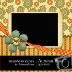 Autumn Bliss QuickMix-$4.50 (Designs by Krista)