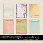 Glorious Spring Journal Bitz Pack-$3.99 (Laura Burger)