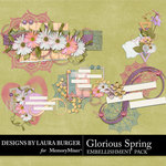 Glorious Spring Cluster Pack-$4.99 (Laura Burger)